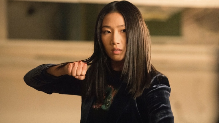 Olivia Liang as Nicky Shen on Kung Fu