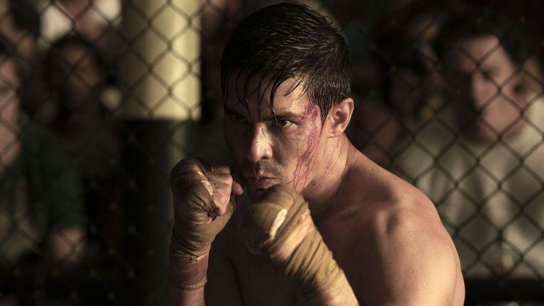 Lewis Tan as Cole in Mortal Kombat