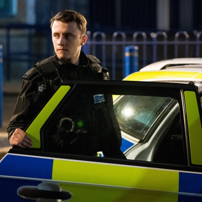Line of Duty 6-3 Ryan police car
