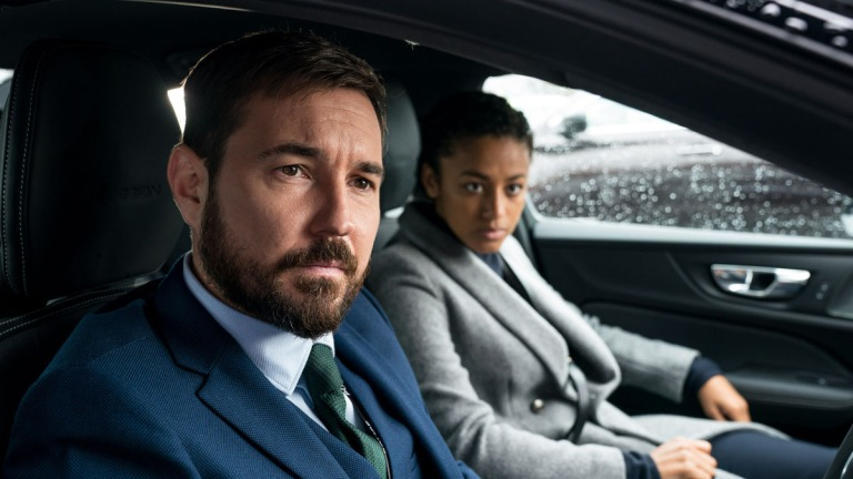 Martin Compston and Shalom Brune-Franklin Line of Duty series 6