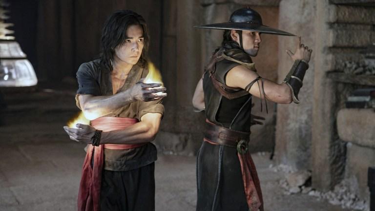 Liu Kang in Mortal Kombat 2021