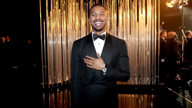 Michael B. Jordan at the Oscars