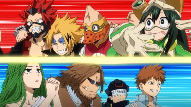 My Hero Academia Season 5 Episode 4 Class A Vs B