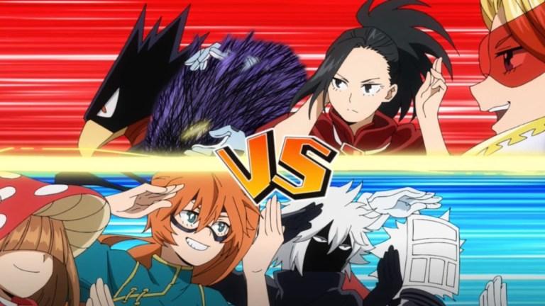 My Hero Academia Season 5 Episode 5 Class A Vs B