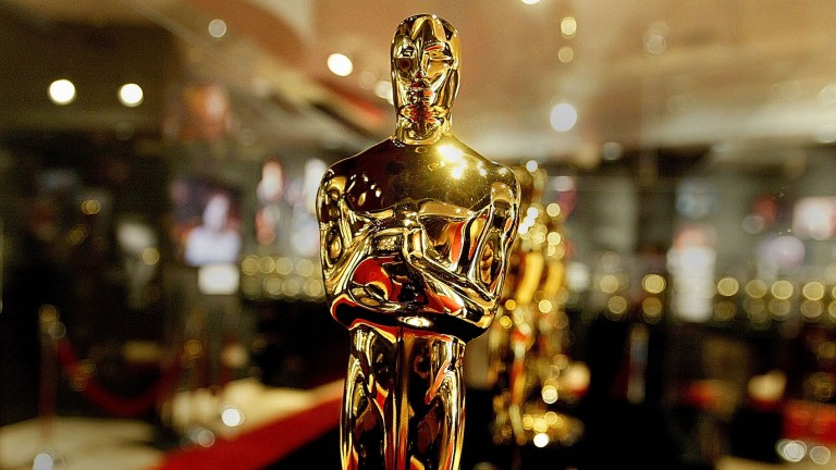 An Academy Award Statuette from the Oscars 2021