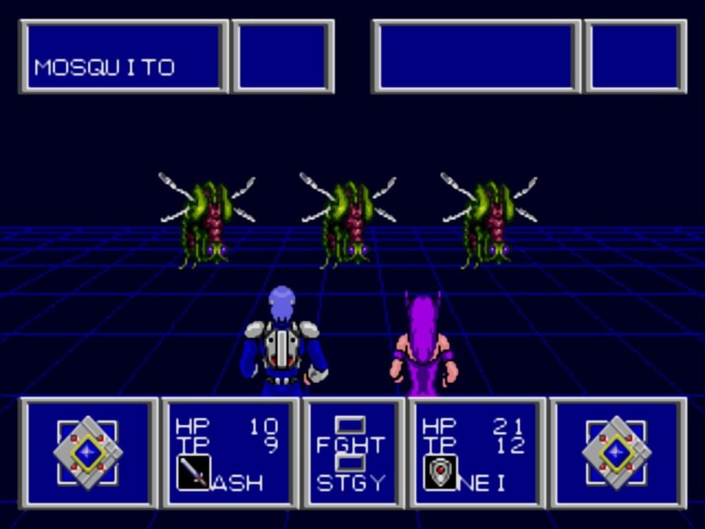 Phantasy Star 2 Sega Genesis