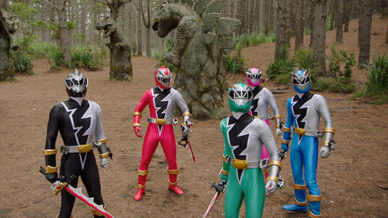 Power Rangers Dino Fury Morphin Grid
