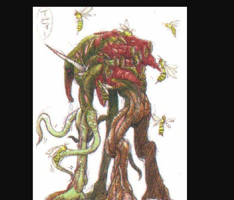 Resident Evil DASH plant monster