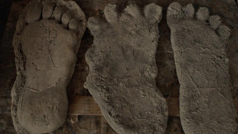 Bigfoot impressions from Hulu's Sasquatch