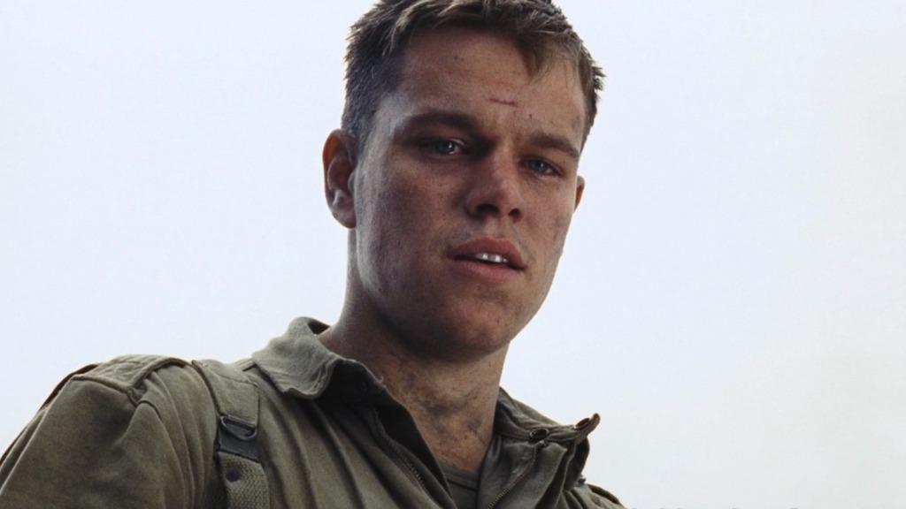 Matt Damon como Soldado Ryan