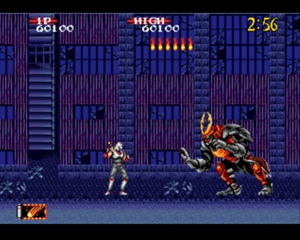 Shadow Dancer: The Secret of Shinobi Sega Genesis