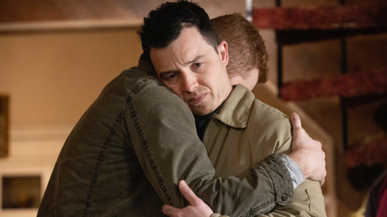 Noel Fisher as Mickey Milkovich and Cameron Monaghan as Ian Gallagher