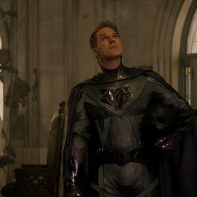Matt Lanter as Skyfox in Netflix's Jupiter's Legacy