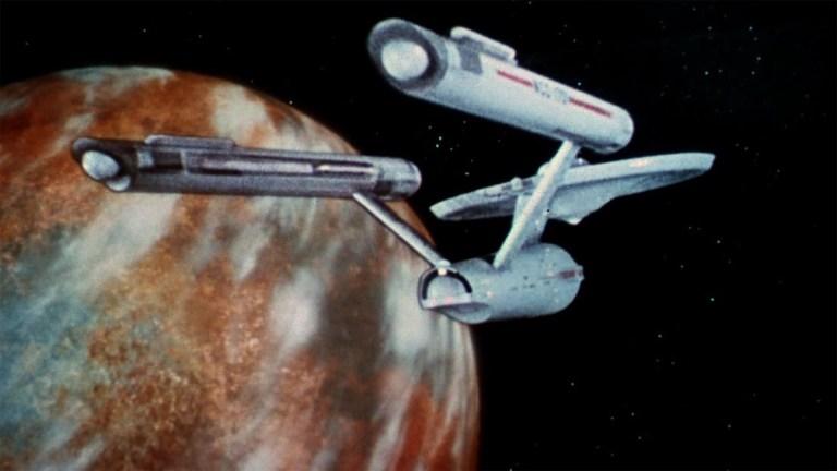 Star Trek TOS ship planet