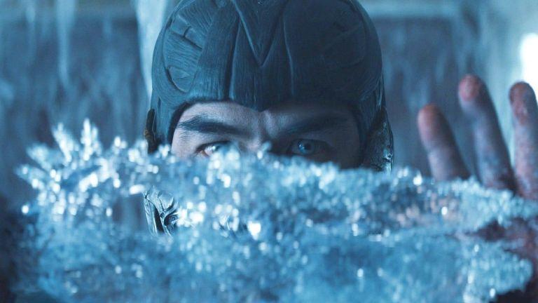Sub-Zero Makes Ice Sword in Mortal Kombat 2021