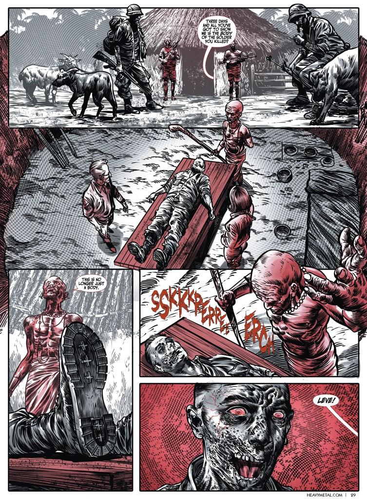 How George C. Romero's Heavy Metal Comics Keep Dad's Zombie Legacy Alive