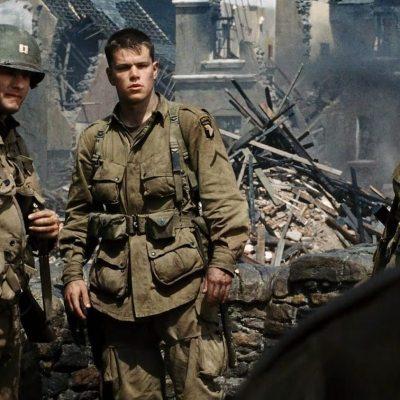 Tom Hanks and Matt Damon in Saving Private Ryan