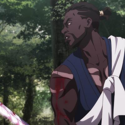 Yasuke (Lakeith Stanfield) in Netflix anime Yasuke
