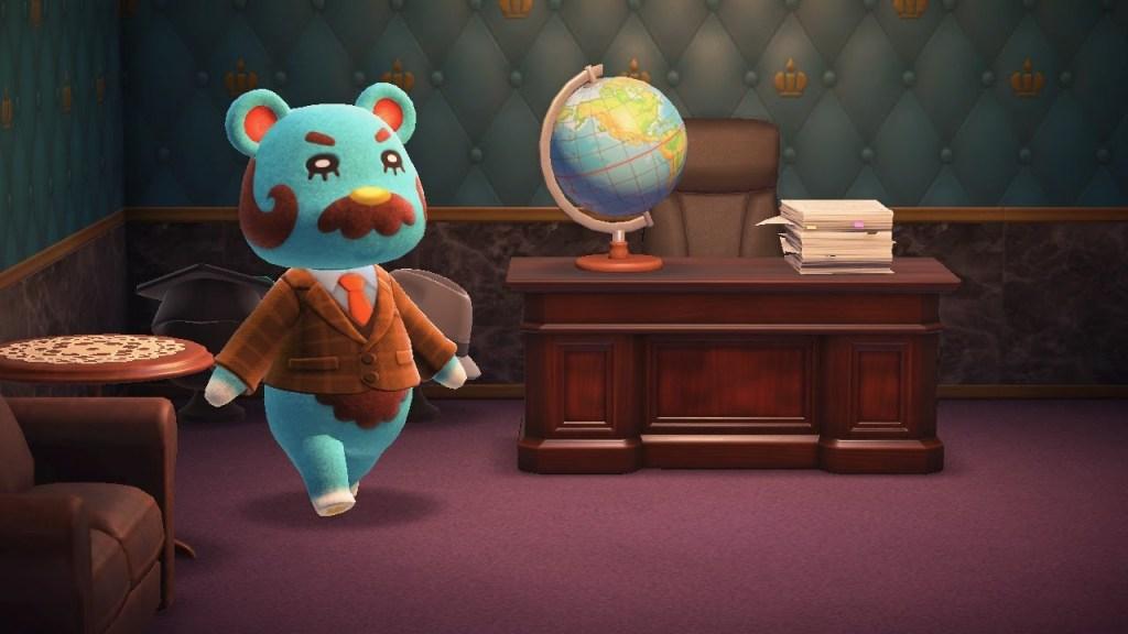 Animal Crossing Beardo