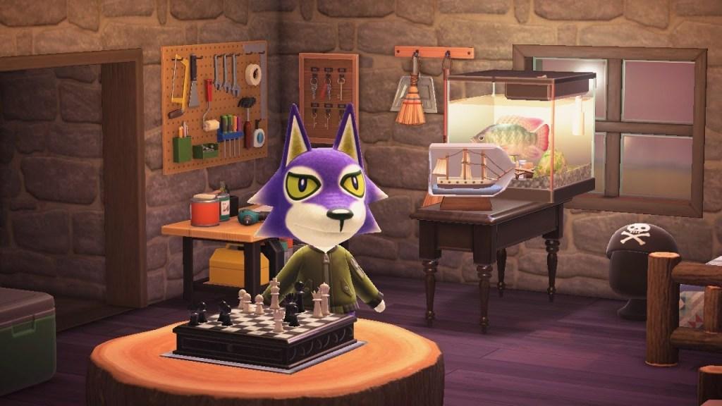 Animal Crossing Lobo