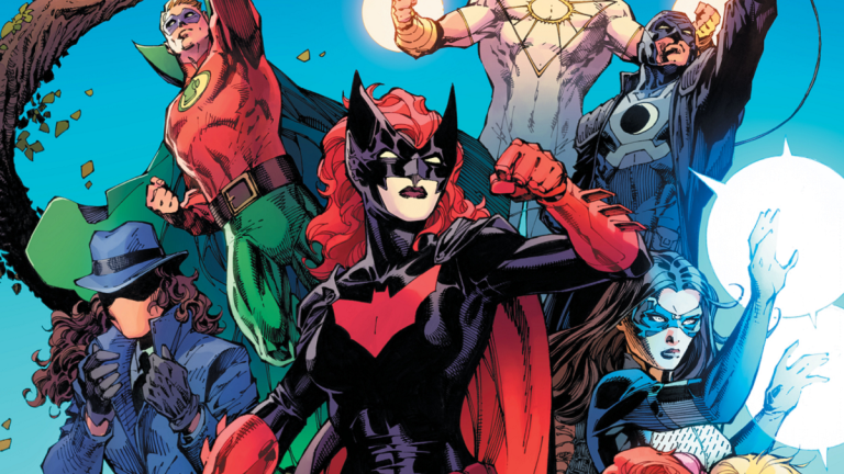 The Cover of the DC Comics Pride Anthology