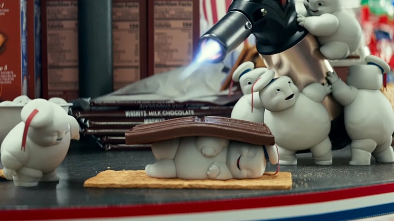 Ghostbusters: Afterlife: Stay Puft Marshmallow Men.