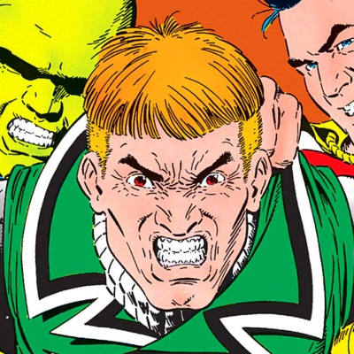 Guy Gardner, Martian Manhunter and Shazam in DC's Justice League.