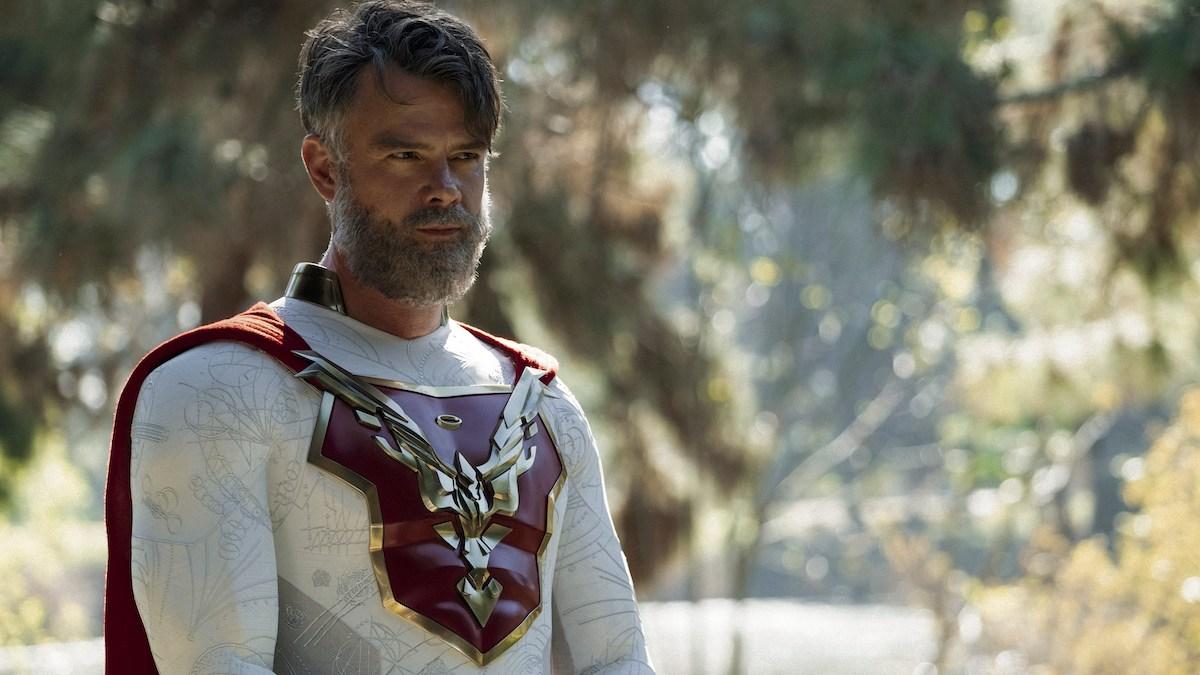 Josh Duhamel as The Utopian in Jupiter's Legacy