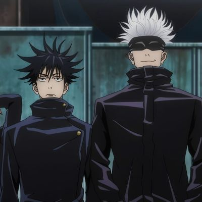 Characters from the Jujutsu Kaisen anime series