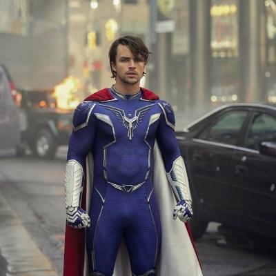 "Andrew Horton as Brandon ""Paragon"" Sampson on Netflix's Jupiter's Legacy"