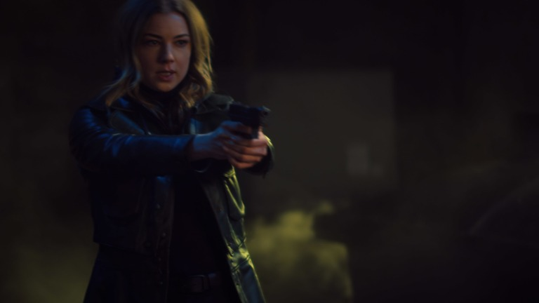 Emily Van Camp as Sharon Carter in Marvel's The Falcon and the Winter Soldier