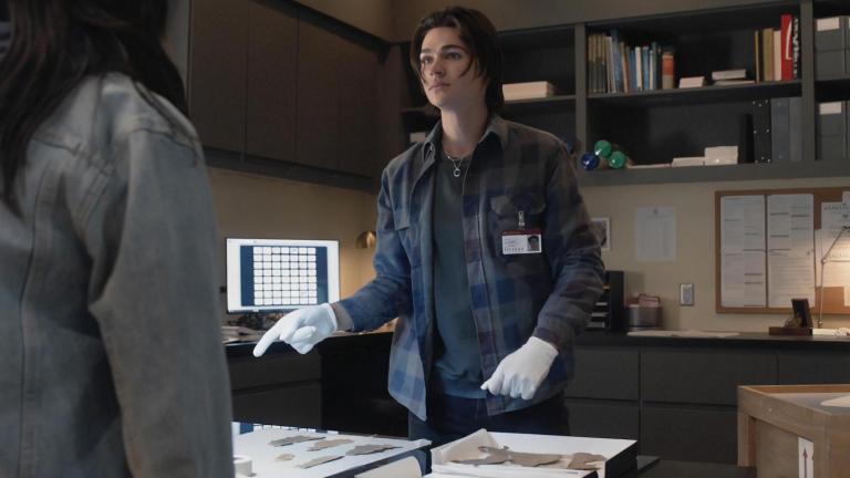 Will Peltz as Levi in office - Manifest