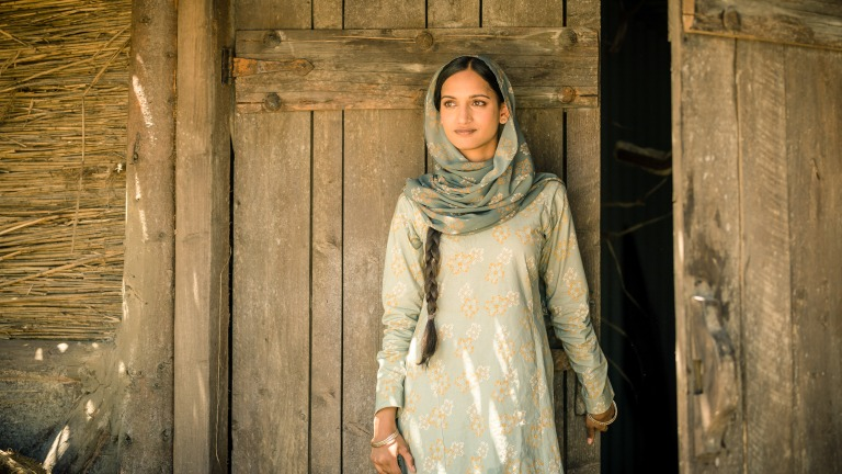 "Amita Suman as Umbreen in Doctor Who's ""Demons of the Punjab"""