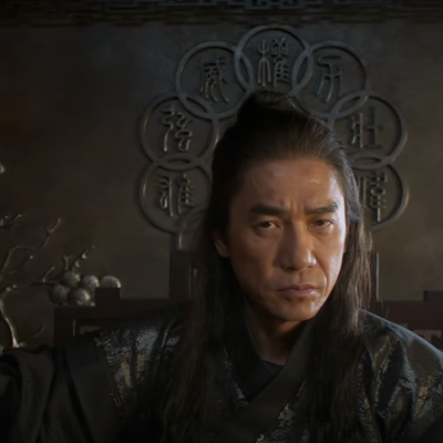 Tony Leung as the Mandarin in Marvel's Shang-Chi and the Legend of the Ten Rings