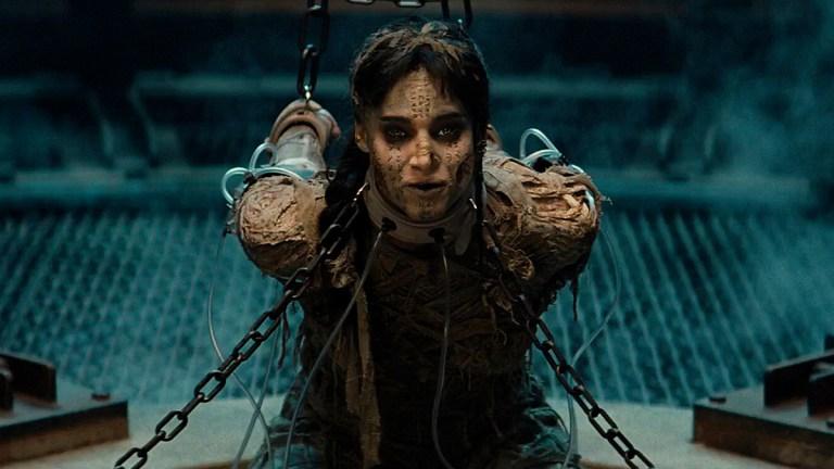 Sofia Boutella in The Mummy.
