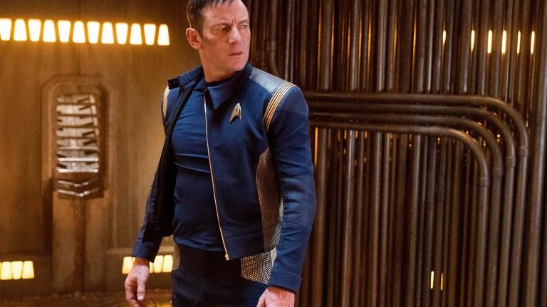 Jason Isaacs as Captain Lorca in Star Trek: Discovery Season 1