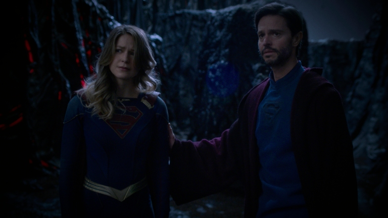 Supergirl flirts with horror and fights phantoms