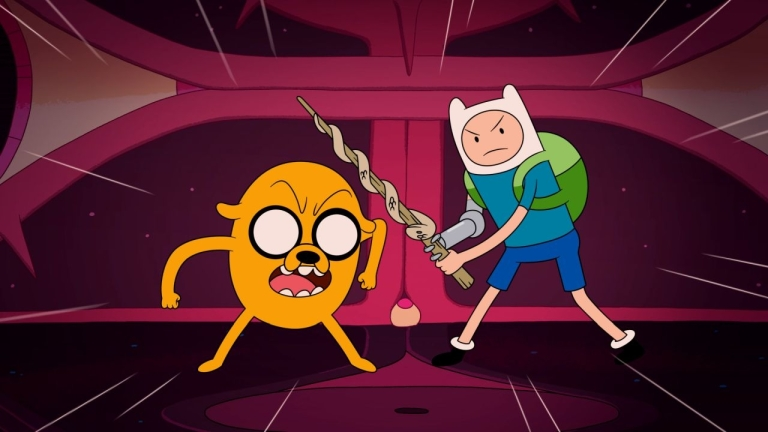 Finn and Jake in Adventure Time: Distant Lands - Together Again