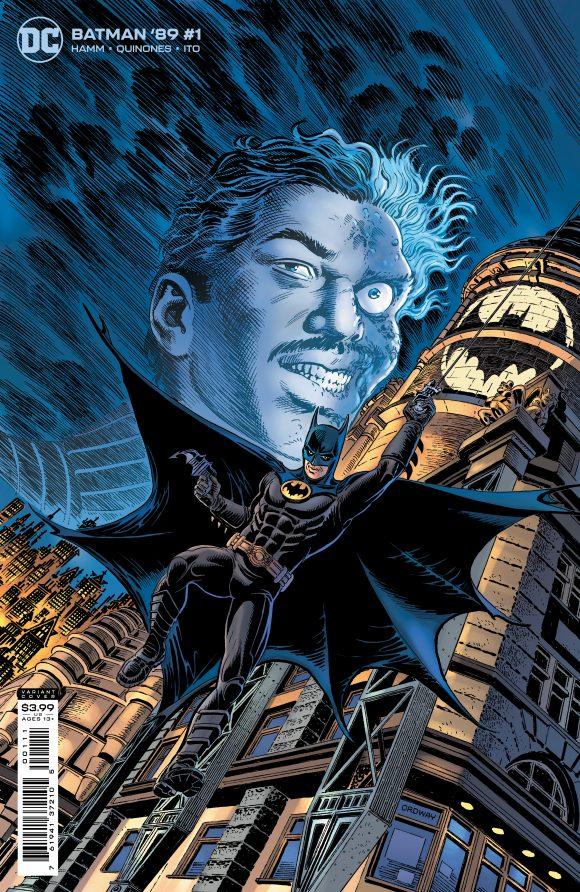 Batman 89 Billy Dee Williams à deux visages