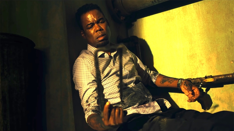 Chris Rock in Spiral Book of Saw Ending