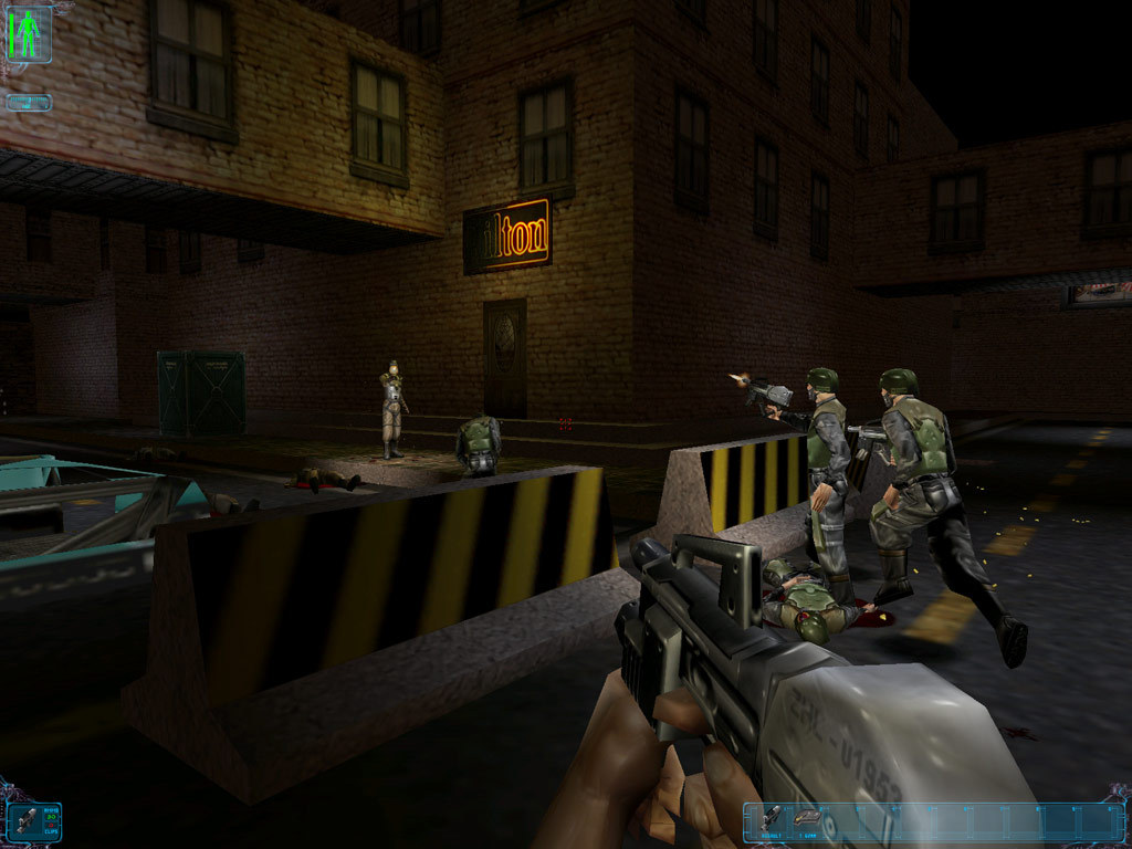 Deus Ex action gameplay RPG