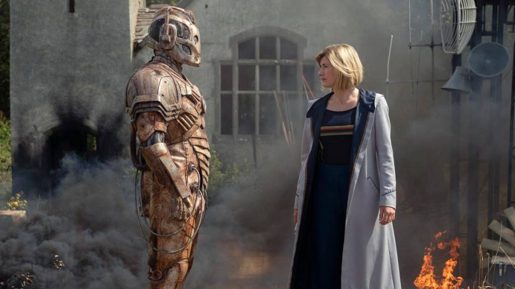 Doctor Who Ascension of the Cyberman Jodie Whittaker