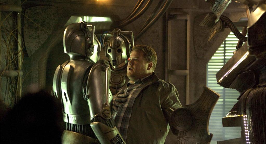 Doctor Who Closing Time James Corden