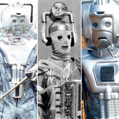 Doctor Who Cybermen ranking header