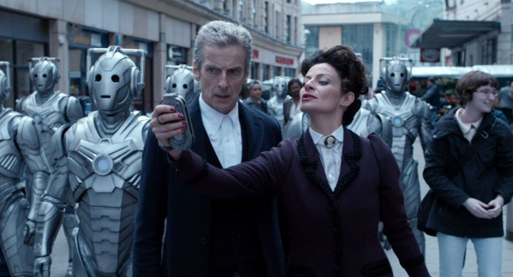 Doctor Who Peter Capaldi and Michelle Gomez Death in Heaven