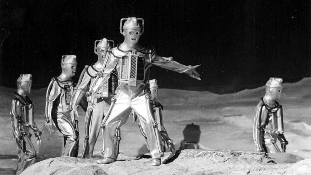 Doctor Who The Moonbase Cybermen
