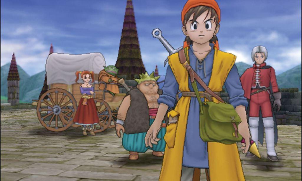 Dragon Quest VIII PS2 RPG