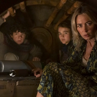 Emily Blunt and MIllicent Simmonds in A Quiet Place Part II