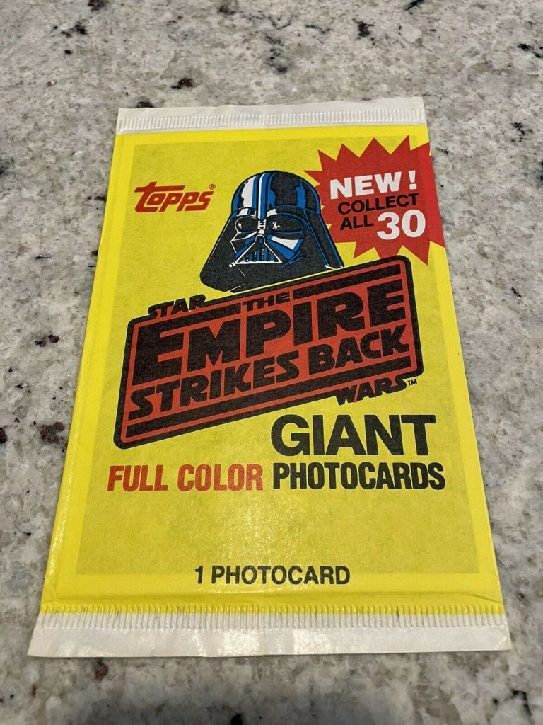The Empire Strikes Back Full Color Giant Photocards Unopened Pack