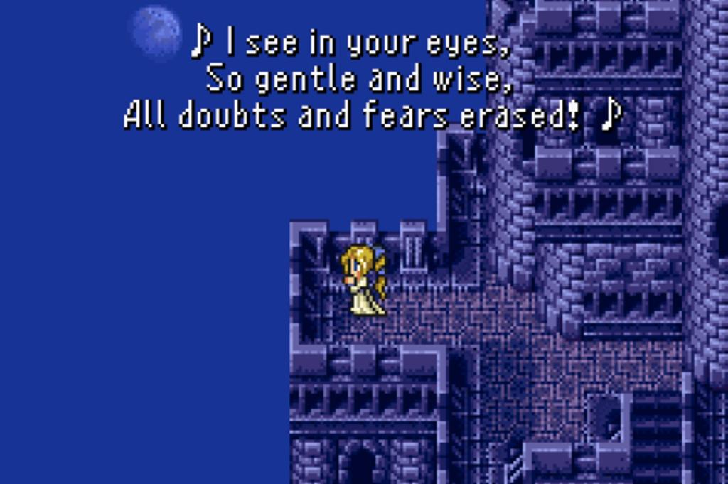 Final Fantasy 6 opera scene